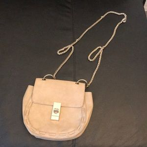 Cute purse with gold chain